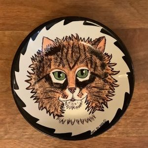 Cats by Nina Kitty Dish 8 inches